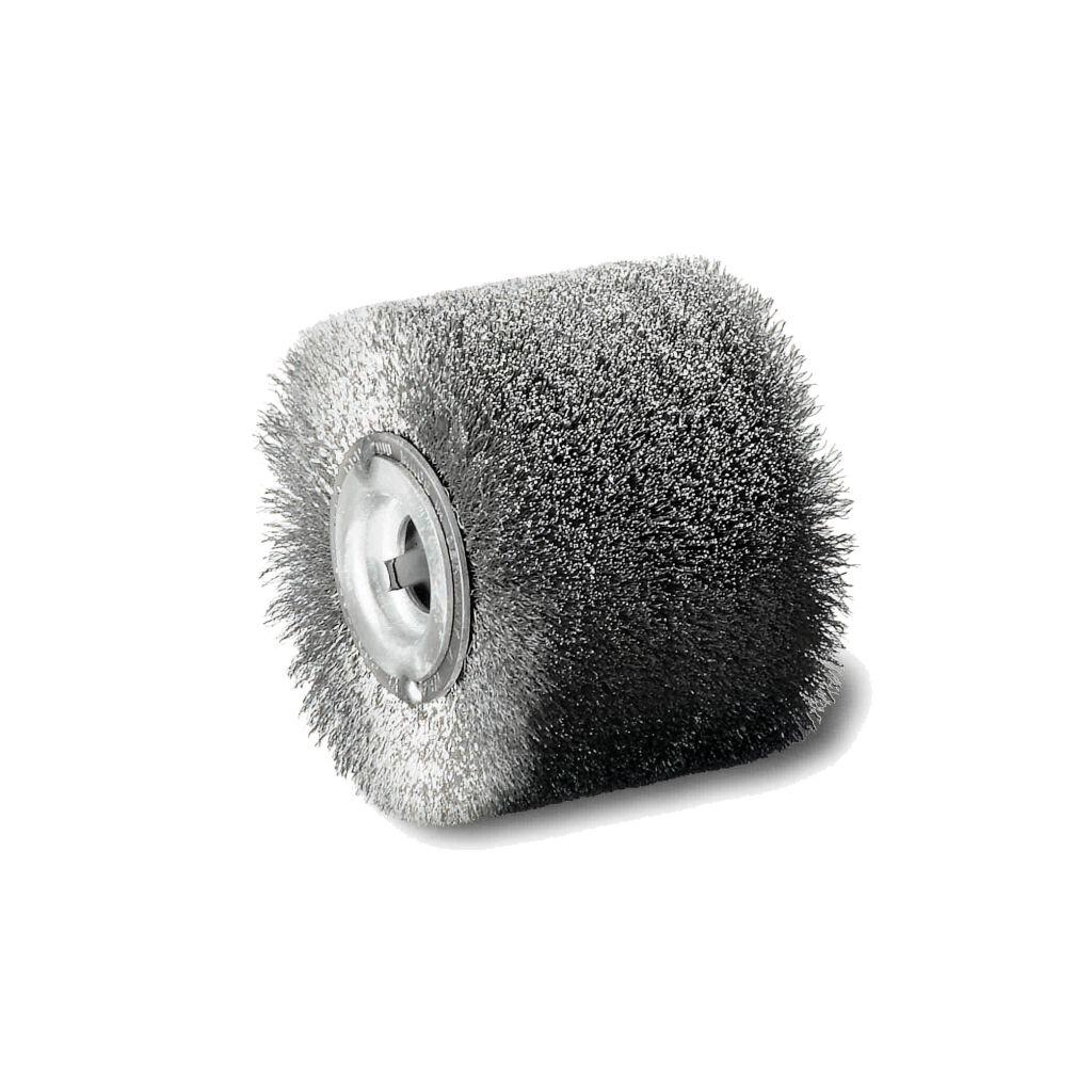 Satinierbürste rostfreier Draht 0,20 100 x 70 x 23 x 19,2, 108,